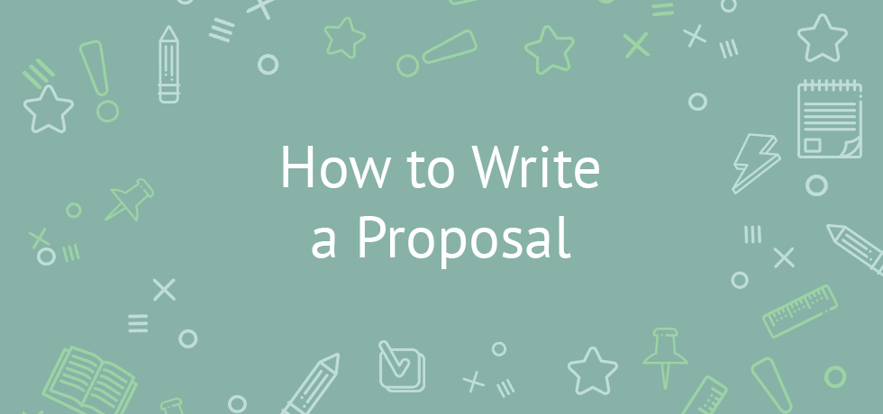 how do we write a proposal